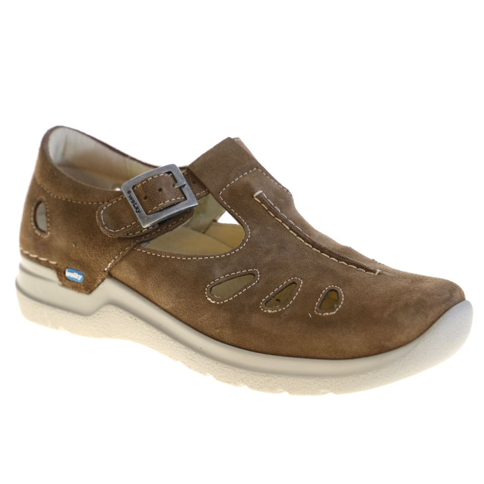 Wolky, Smiley, Shoes, Oiled Suede, 40310 Mid-brown Shoes Wolky 40 310 Mid-brown 37