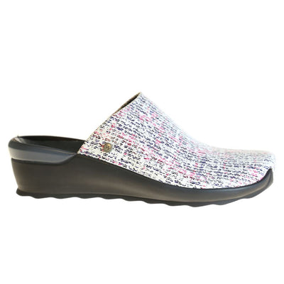 Wolky, Go, Velvet Leather, Clogs, 41 920 Grey-mix Clogs Wolky