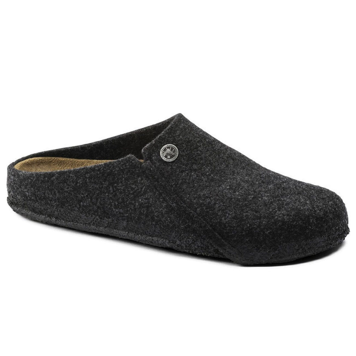 Birkenstock Seasonal, Zermatt, Wool Felt, Regular Fit, Anthracite