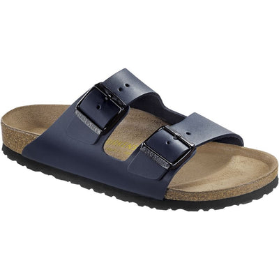 Birkenstock Classic, Arizona, Smooth Leather, Regular Fit, Blue Sandals Birkenstock Classic Blue 41