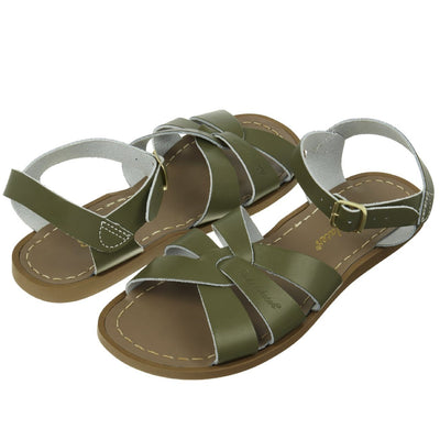 Salt Water Sandals, Original, Child, Olive Sandals Salt Water Sandals