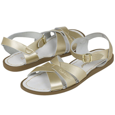 Salt Water Sandals, Original, Youth, Gold Sandals Salt Water Sandals