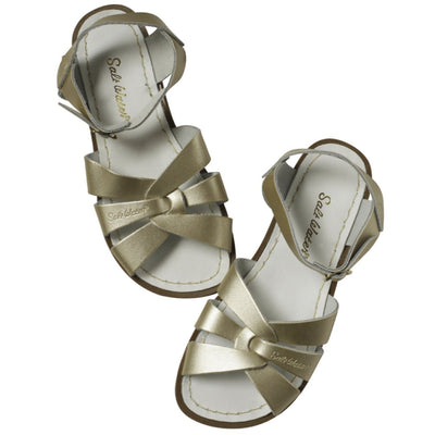 Salt Water Sandals, Original, Youth, Gold Sandals Salt Water Sandals Gold 1