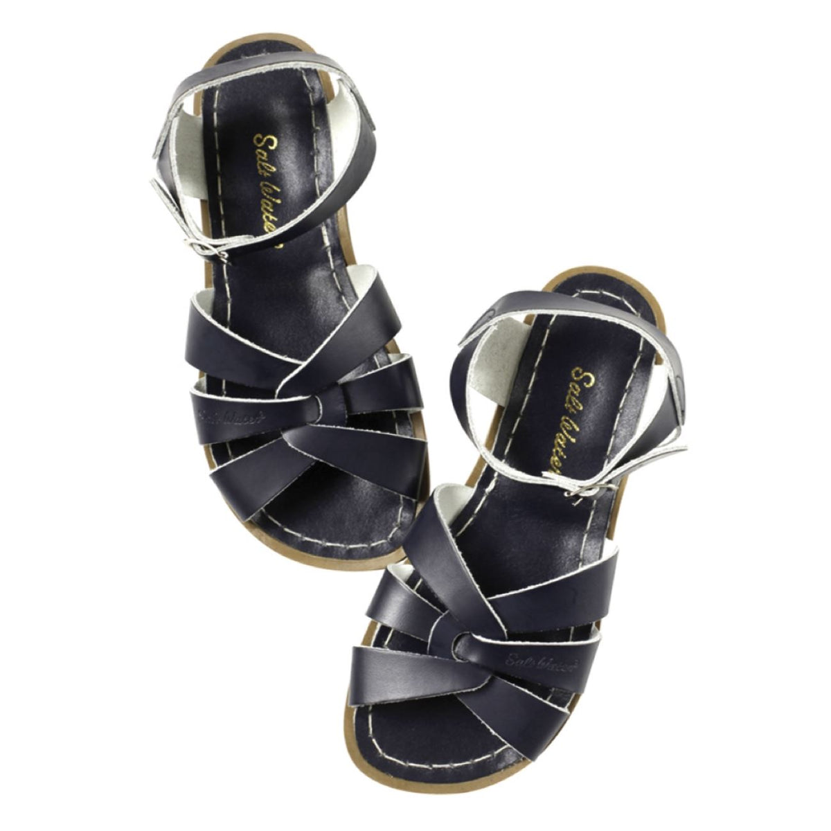 Salt Water Sandals, Original, Child, Navy Sandals Salt Water Sandals Navy 9