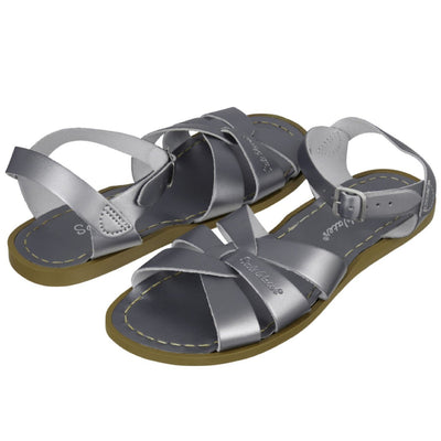 Salt Water Sandals, Original, Child, Pewter Sandals Salt Water Sandals