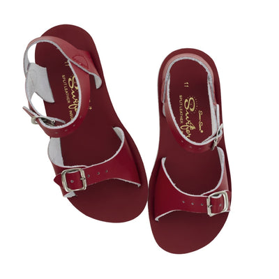 Salt Water Sandals, Sun-San Surfer, Youth, Red Sandals Salt Water Sandals Red 13