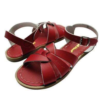 Salt Water Sandals, Original, Youth, Red Sandals Salt Water Sandals