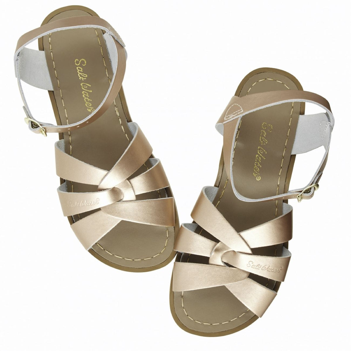 Salt Water Sandal, Original, Child, Rose Gold Sandals Salt Water Sandals Rose Gold 11