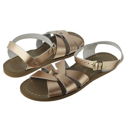 Salt Water Sandals, Original, Youth, Rose Gold Sandals Salt Water Sandals