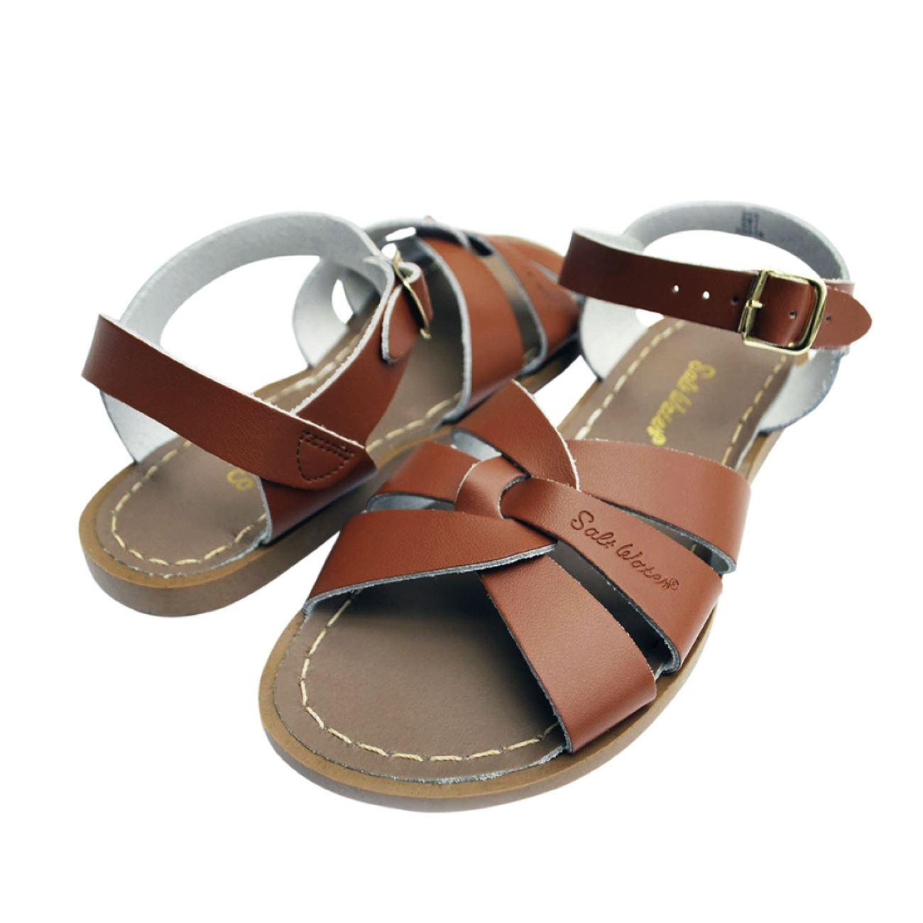 Salt Water Sandals, Original, Youth, Tan Sandals Salt Water Sandals Tan Y2