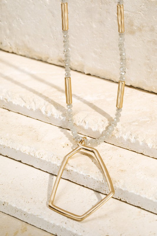 The Geo long necklace