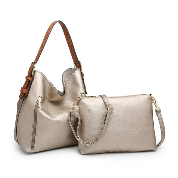 Restock-Conceal & Carry-The Gold Alexa Hobo
