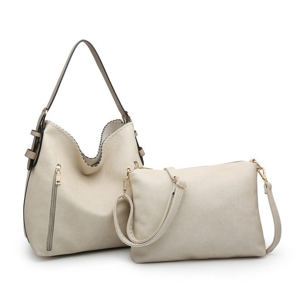 Conceal & Carry Ivory Alexa Hobo
