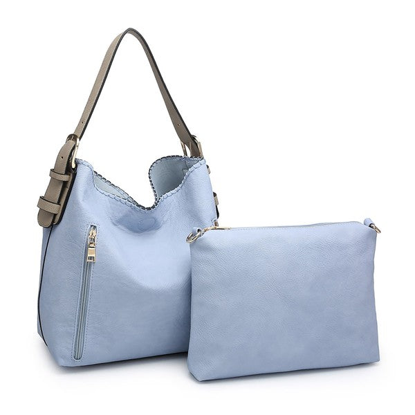 Conceal & Carry-The Periwinkle Alexa Hobo