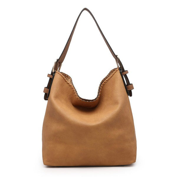 Conceal & Carry Tan Alexa Hobo