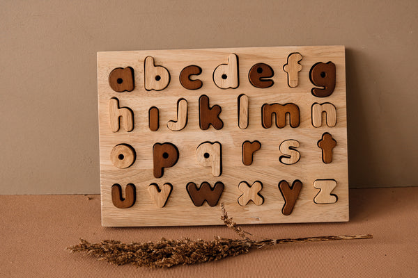 Natural lower case puzzle - Monkeynmoo