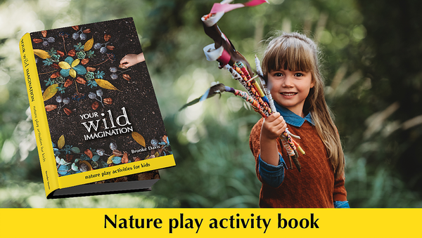YOUR WILD IMAGINATION: NATURE PLAY ACTIVITY BOOK FOR KIDS - Monkeynmoo
