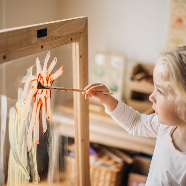 Toddler Perspex Easel (pre order early June delivery) - Monkeynmoo