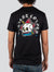 Playera Radiant Burning Skull