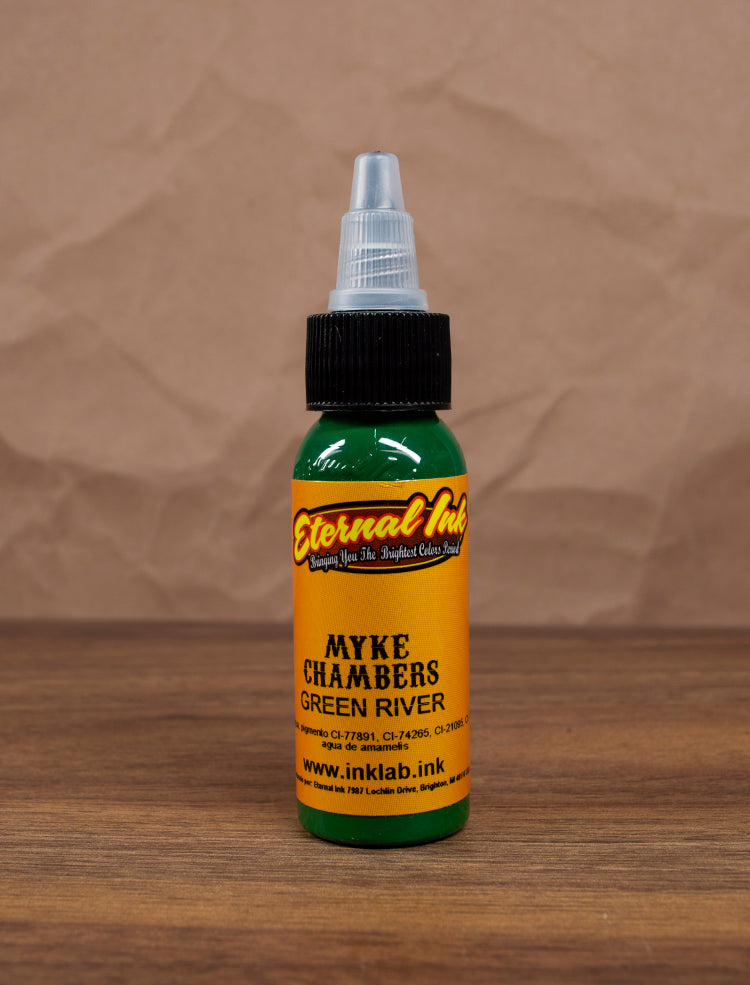 Tinta Eternal Ink Myke Chambers Green River 1oz