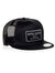 Needle Pusher Snapback Negra