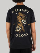 Playera Radiant Nocturnal Tiger Tee