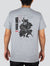 Playera Radiant Samurai Gray