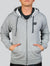Sudadera Radiant Gray Black