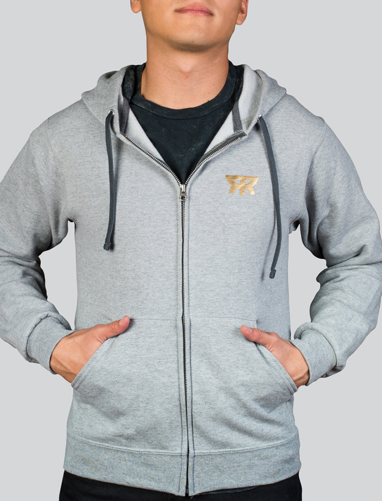Sudadera Radiant Gray Gold