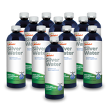 BNatrl 12ppm Mineral Alkaline Colloidal Silver Water Solution-16 Oz