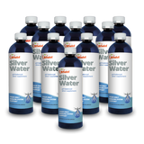 Extra Strength Highly Purified Silver & Structured Water Solution 30 PPM - 16oz Bottle