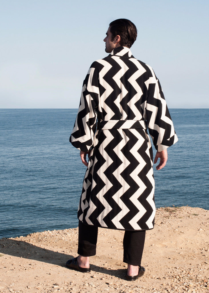 Tiébélé Robe-Coat