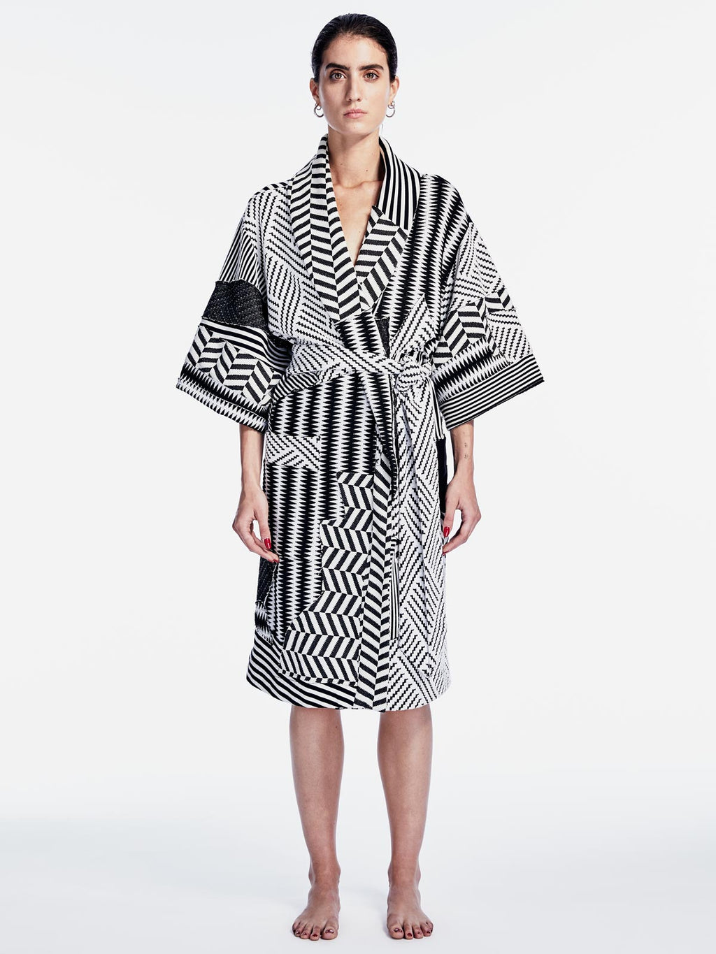 Patchwork Robe