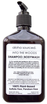 Into the Woods Shampoo & Bodywash