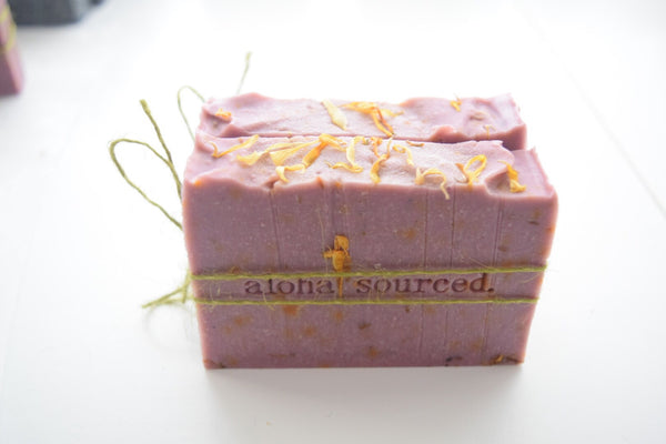 Aloha Sourced Flora to my fauna bamboo soap above