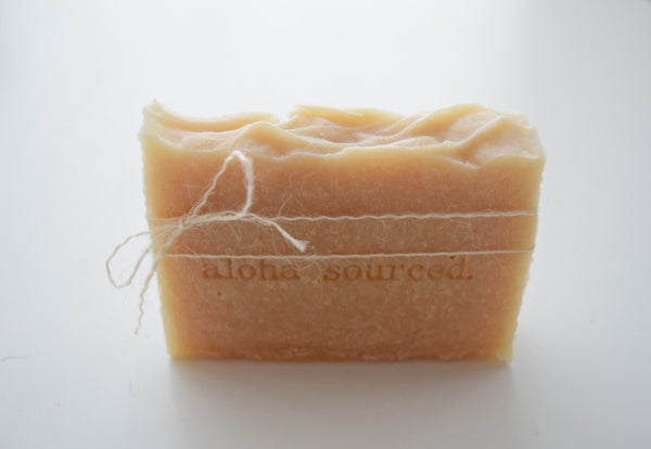 Aloha Sourced Lilikoi Honey bamboo soap