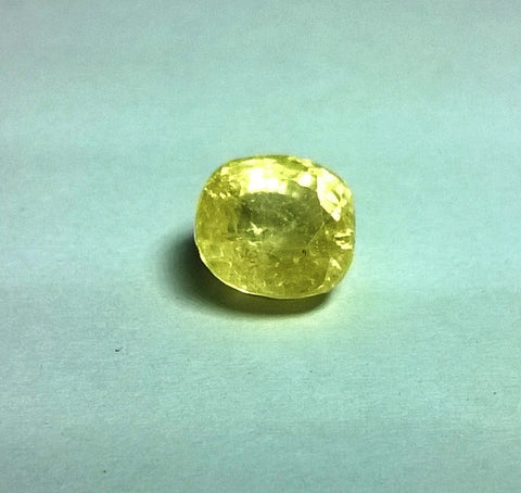Yellow Sapphire 7.96 Carats