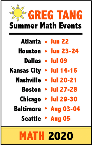 Summer Math Conferences for All Educators
