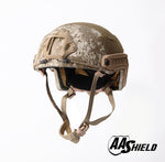 AA SHIELD® NIJ LEVEL III-A FAST Style Ballistic Tactical Helmet