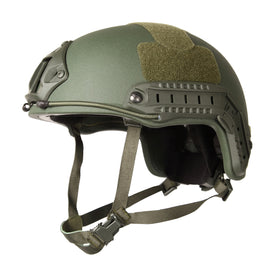 AA SHIELD® ACH MICH HIGH CUT Ballistic Helmet Level NIJ III-A with NVG mount and Side Rail