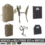 AA Shield Triple-B Energy Deployment Transferable Backpack/Briefcase/Body Armor