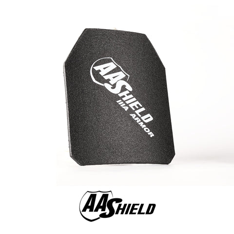 "AA SHIELD® NIJ LEVEL III-A 10""x12"" Shooter's Cut Hard Body Armor"