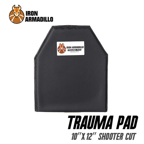 "AA SHIELD® x Iron Armadillo®Trauma Pad 10""X12"" SHOOTER'S CUT  (Not Bulletproof or Stab Resist!)"