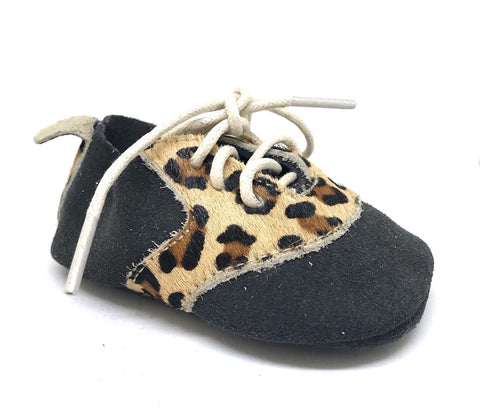 Hipsta - Dark Grey/Leopard