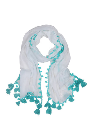 Cayo Rio Scarf - Turquoise