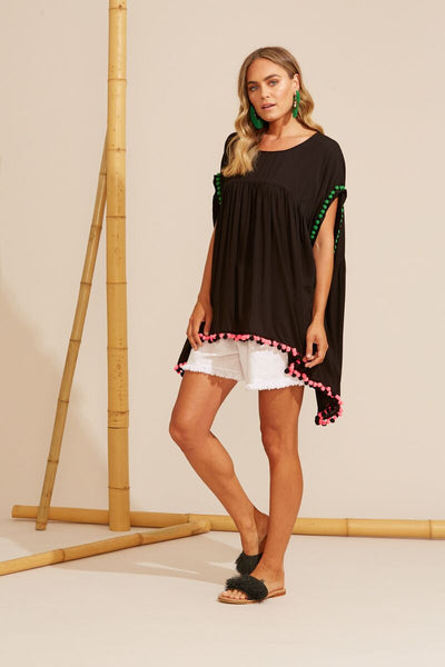 Costa Brava Dress - Black