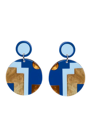 Hacienda Earring - Royal