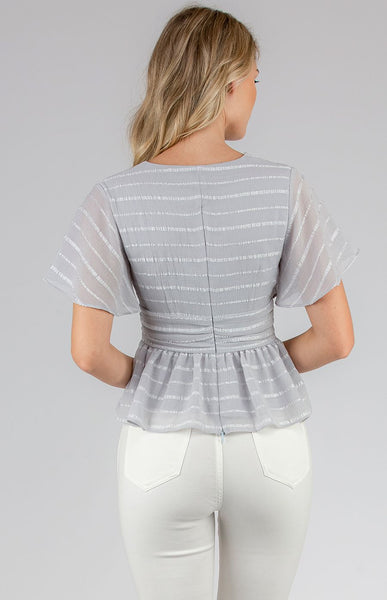 Isla Top - Grey