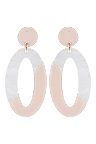 Kana Drop Earrings - Ivory