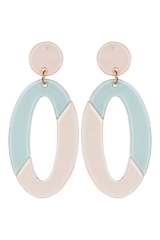Kana Drop Earrings - Sage